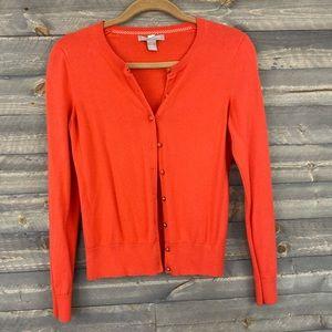 🍊 Banana Republic Orange Sweater